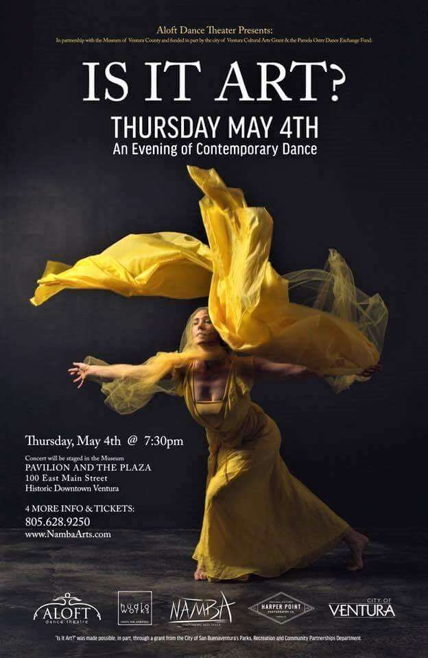 May 04, 2017: Is it Art? An Evening of Contemporary Dance